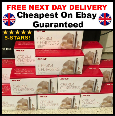 Whipped Cream Canisters Nitrous Oxide Free Next Day Delivery 7x8g