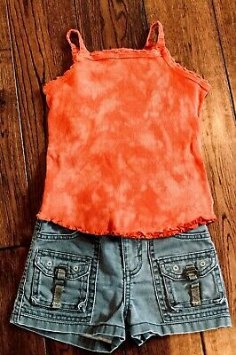 Girls shorts outfit size 4-5