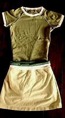 Girls Skirt/top Outfit Size 10-12