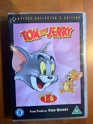 Tom And Jerry - Complete Volumes 1-6 [Collector's Edition Box Set] [2006] (DVD)