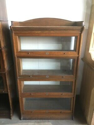 1930's Lebus Oak Sectional Bookcase