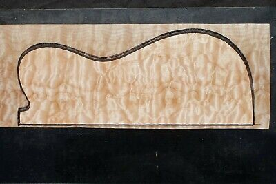 """Awesome Quilted Maple 19 7/8"""" X 7"""" X 2"""": Guitar, Luthier, Craft, Scales"""