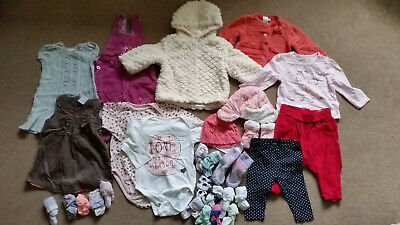 Baby Girl Clothes Bundle, size 3-6mths (H&M, Mothercare, TU, Reserved, MiniClub)