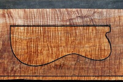 """Awesome Quilted Curly Maple 23"""" X 11 1/4"""" X 1 7/8"""": Guitar, Luthier, Craft"""