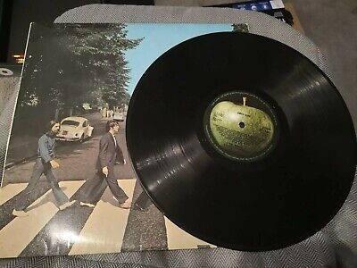 THE BEATLES - ABBEY ROAD - Vinyl LP RECORD Album -1969 - PCS7088