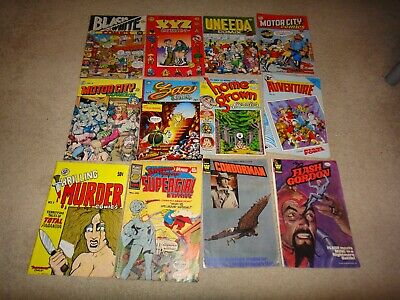comic Zap.DC and other collection 12 comoic sale thelot