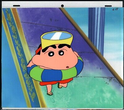 Crayon Shin Chan Anime Production Cel Shinosuke Nohara