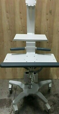 GCX Polymount VHRS Variable Height Roll Stand for Monitor PC & Keyboard Medical