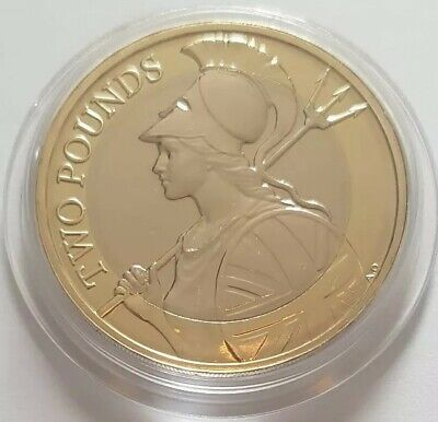 2019 Royal Mint The Britannia Two Pounds £2 coin Brilliant Uncirculated BUNC UK