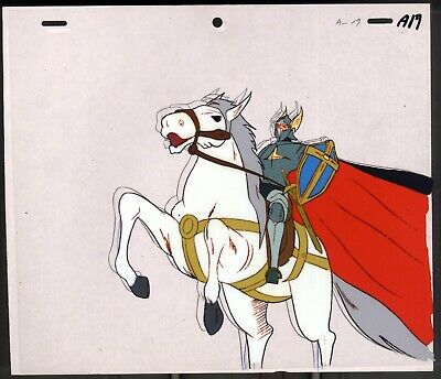 KING ARTHUR ANIME PRODUCTION CEL ARTHUR  Entaku no Kishi Monogatari Moero Āsā