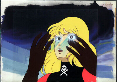 Captain Harlock  Albator  Anime Production Cel Kei Yuki
