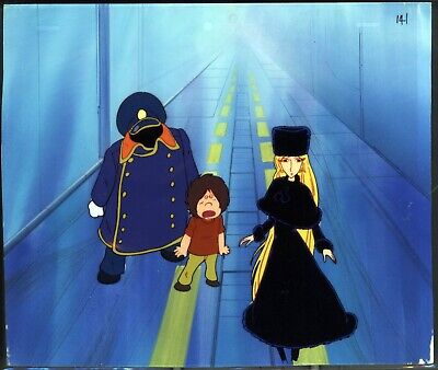 Galaxy Express 999 Anime Production Cel