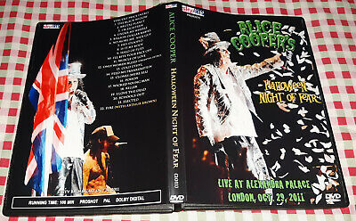 Alice Cooper - Halloween Night of Fear Live London DVD Special Fan Edition
