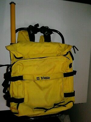 Trimble Metal Hard Frame Surveying Backpack Bag