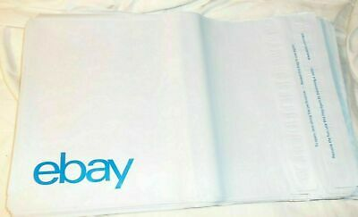 "200 x eBay Branded Self-sealing Polymailer (No Padding Bags Envelopes 9"" x 11.5"""