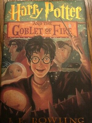 Harry Potter and the Goblet of Fire First Edition 1st Printing W Dust Cover
