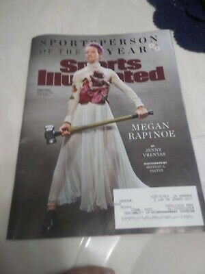 Sports Illustrated Magazine December 16-23, 2019 Double Issue Rapinoe Cover  NEW