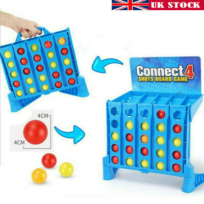 Hot Connect 4 Shots Kids Childrens Games Family Funny Toy 8 Years+ Xmas Gifts UK