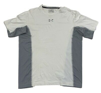 Under Armour Heat-GEAR Freedom USA United We Stand Compression Shirt Gray