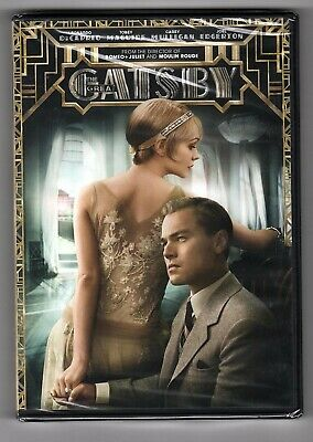 The Great Gatsby DVD LEONARDO DECAPRIO NEW