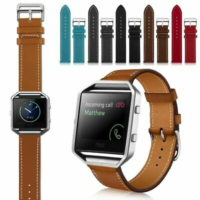 Replacement Leather Band For Fitbit Blaze Fashion Watch Wrist Strap Bracelet