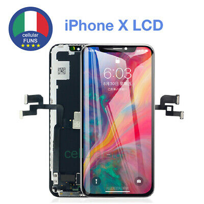 Touch Screen Display Schermo Per Apple Iphone X Oled Frame Lcd Originale Tianma