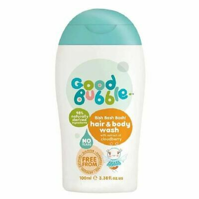 Good Bubble CLOUDBERRY HAIR & BODY WASH 100ML New