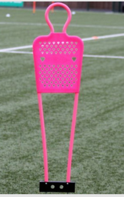 Set Of 3 Mini Mannequin  Yes 3 !!!!  (Free Kick Man Wall) Pink 4Ft Tall