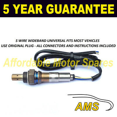 FOR SKODA UNIVERSAL 5 WIRE WIDEBAND WIDE BAND OXYGEN LAMBDA SENSOR FRONT