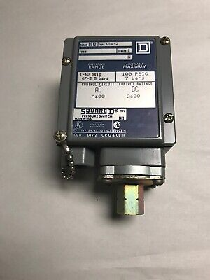 Square D Class 9012 Type GDW-2 Pressure Switch