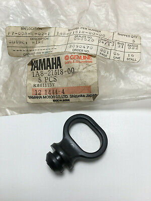 NOS Cable Guide Holder Yamaha Part # 1A8-21518-00 RD350 TW200 FJ1100 YSR FZ etc