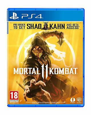 Mortal Kombat 11 (PS4) (New) - (Free Postage)