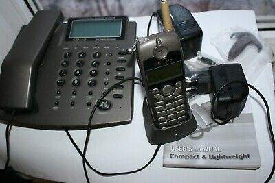 SONY CORDLESS TELEPHONE 10 Speed Dial Preset with Compander