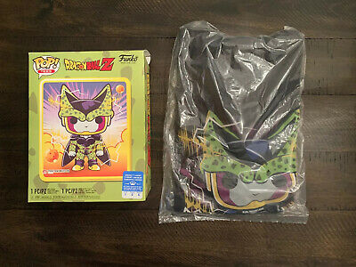 Funko POP! Tees DBZ Perfect Cell TEE SHIRT & OUTER BOX (GameStop) [Large] NO POP