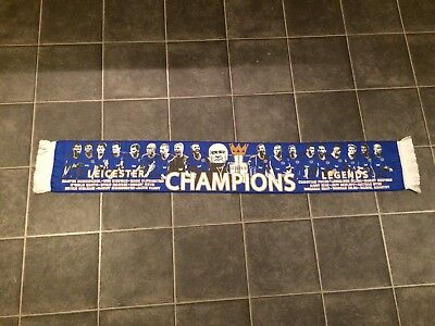 Leicester City Champions Football Scarf - New