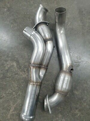 American Racing Stainless Steel 2 Into 1 Y Pipe With Cats