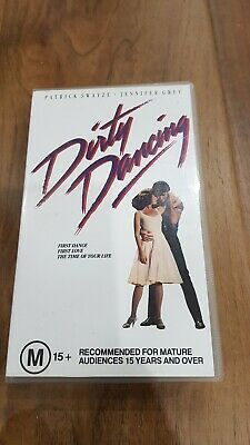 Dirty Dancing (Patrick Swayze, Jennifer Grey) VHS Video