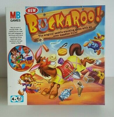 MB Games Hasbro 2007 Buckaroo Children Kids Christmas Gift Game Great Condition