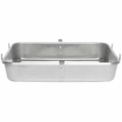 "Vollrath Wear-Ever® Bottom Roasting Pan with Straps 29 1/2 qt Aluminum - 24""L x"