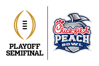 Two Peach Bowl Ticket Package w/Hotel+ Tailgate Sect 106, LSU vs Oklahoma