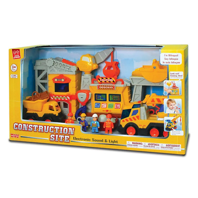 Little Learner Construction Playset NEW