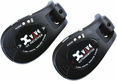 Xvive U2 2.4GHZ Wireless Guitar System / Digital Guitar Transmitter Receiver NEW