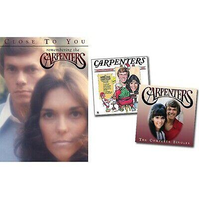 New 5 Piece Lot of Carpenters Complete Singles DVD + CDs Sealed