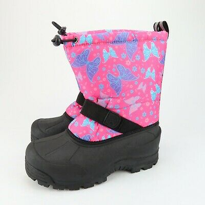 NEW D8975 Northside Girl/'s Frosty WINTER SNOW BOOTS WATERPROOF YOUTH SZ 11 M