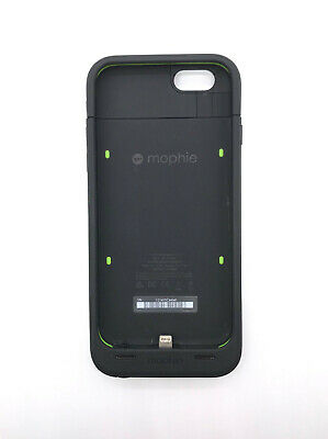 Mophie Juice Pack Plus Battery Charge Case For iPhone 6/6s, 3300 mAh Black