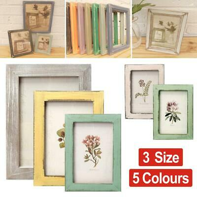 Industrial vintage wood effect//Camouflage Picture//Photo//Poster frame Blue
