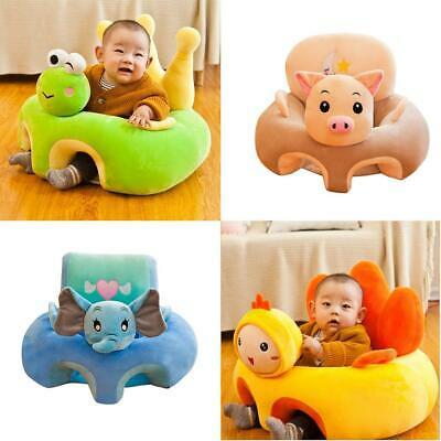 Baby Cartoon Sofa Cover Anti-fall Infant Chair Learning to Sit No Filling #8Y