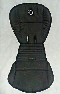 Bugaboo Bee Plus Replacement Seat Fabric Black Free Post Great Buy (L)