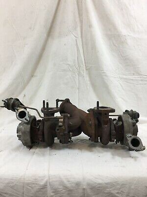 2JZ GTE Factory Twin Turbo Pack With Actuators Fits Toyota Supra / Aristo