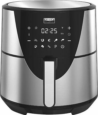 Bella - Pro Series 8qt Digital Air Fryer - Stainless Steel